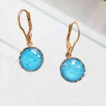 tonia_makri_handmade_turquoise_stone_gold_plated_earrings