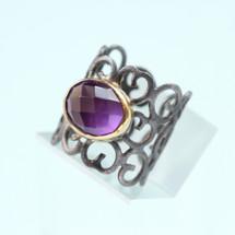 tonia_makri_amethyst_purple_stone_ring_statement_fashion_jewellery_handmade