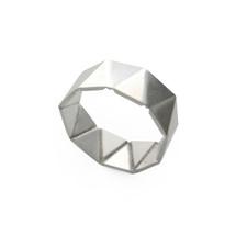 'GEOM' Sterling Silver Ring