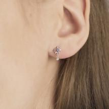 Hakuna_Japan_sterling_silver_star_small_delicate_earrings_studs
