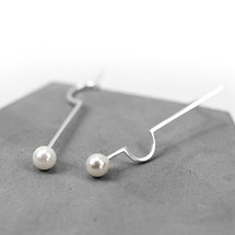 Botanic_Garden_collection_earrings_statement_sterling_silver_pearls_handmade