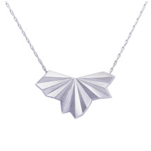 Alice_Barnes_silver_pleated_fan_necklace_art_deco_styled_handmade_jewellery_sterling_silver