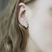 Alice_Barnes_sterling_silver_handmade_jewellery_pleated_art_deco_stud_earrings