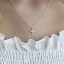 Catherine_Weitzman_necklace_recycled_sterling_silver_anise_star_mini_small