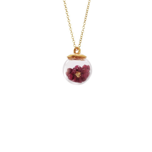 Catherine_Weitzman_necklace_ruby_gold_vermeil_globe_glass_small_long