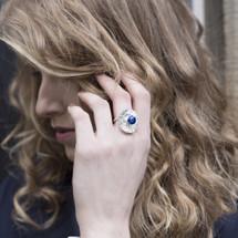 Tina_Kotsoni_ring_sterling_silver_lapis_stone_purple_handmade_jewellery