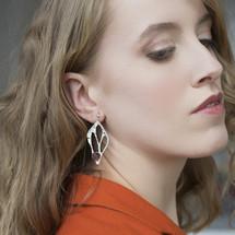 Tina_Kotsoni_handmade_jewellery_earrings_sterling_silver_purple_chalcedony_stone_statement