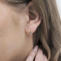 Hakuna_handmade_jewellery_gold_plating_star_earrings_delicate_dainty_Japan