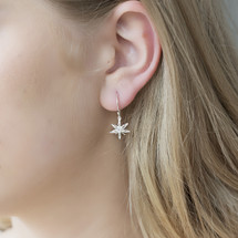 Catherine_Weitzman_handmade_jewellery_recycled_sterling_silver_star_anise_drop_dangle_earrings