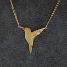 Jana_Reinhardt_gold_plated_hummingbird_necklace_wildlife_handmade_jewellery