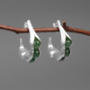 Botanic_garden_collection_sterling_silver_jade_stone_peas_in_a_pod_earrings_hoops_handmade