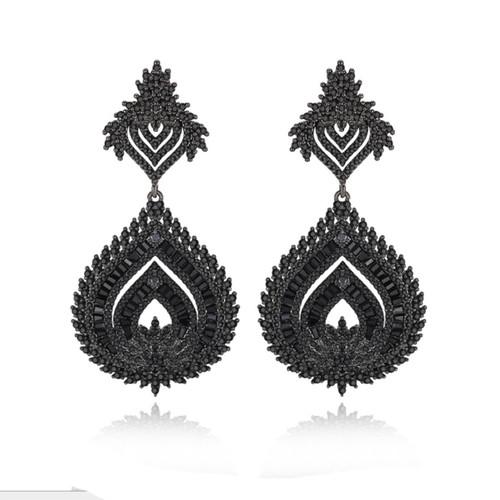 bridal_jewellery_earrings_statement_art_deco_vintage_rustic_large_wedding_black