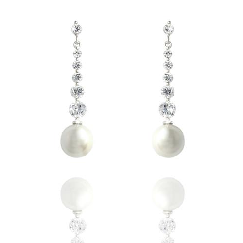 earrings_long_drop_faux_pearl_dangle_bridal_jewellery_bridesmaid_jewellery_Abraham