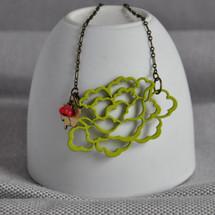 Wild Cherry Tree Blossom Necklace