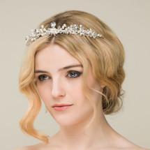 Princess 'Klarissa' Pearl Crystal Tiara