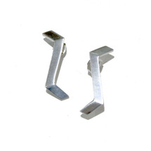 'GABARIT' Sterling Silver Stud Earrings