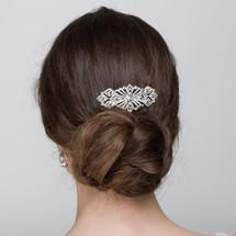 Annette art deco small bridal hair comb