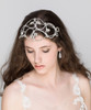 'Angelica' Large Heart Vintage Inspired Bridal Headband