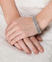 'Farah' Classic Bridal Bracelet