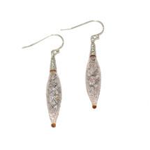 By Niya - Nude and Rainbow Swarovski Crystal Earrings