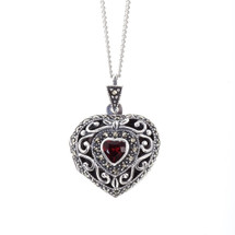 LILY BLANCHE Timeless Love Vintage Heart Pendant  large