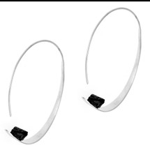 Arte Nobile - Sterling Silver Hoop Earrings