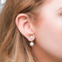 'Jonas' Pearl Drop Earrings