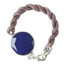 Lite England - Bright Blue Jade Stone Bracelet