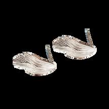 Sterling Silver RAVEN Earrings