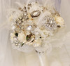 feather art deco vintage brooch bouquet