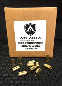 40S&W Fully Processed Brass - 1000 Pieces