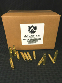 .308/7.62 Fully Processed Brass - 500 Pieces