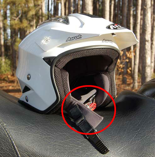 AIROH CHIN STRAP COVER