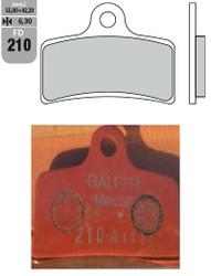 GALFER BRAKE PADS 210