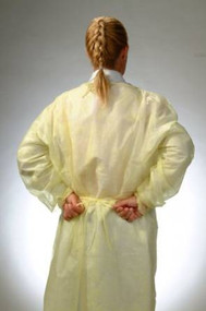 Isolation Gowns Size XL Color Yellow (50 Case)