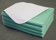 Nobles Reusable/ Washable Waterproof Bed Pad for Children or Adults (Size 34 X 35)