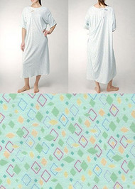 Karen Neuburger Hospital Gown - Green - 3x