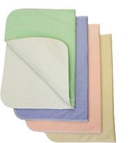 Nobles Reusable / Washable Bed Pads / Chair Pads Incontinence Small Underpad - 17x24 - 4 Pack