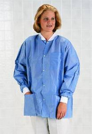 Antistatic Classic Lab Jackets (Case of 30) (Small)