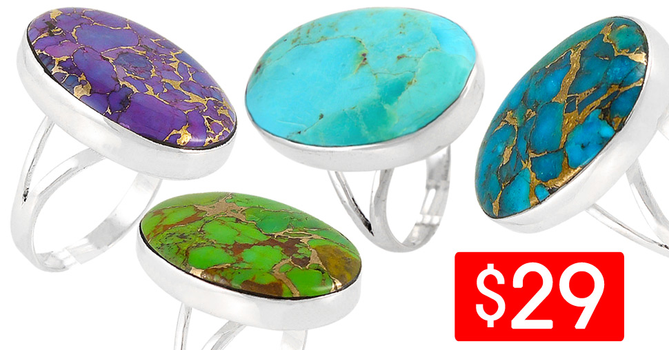 Turquoise Rings Deal