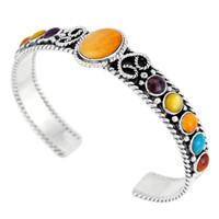 Sterling Silver Bracelet Spiny Oyster Shell B5173-C71