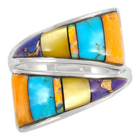Sterling Silver Ring Turquoise R2011-C01