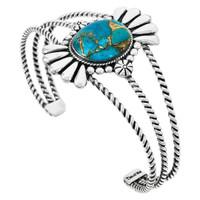 Matrix Turquoise Bracelet Sterling Silver B5570-C84