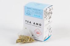 Calm-Stress & Anxiety. 15 Organic Herbal Pyramid Tea Bags