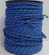 Rope 4mm Spectra - Blue with Black fleck (per metre)