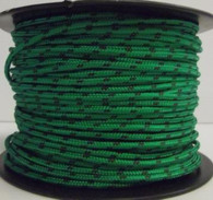 Rope 3mm Spectra - Green with Black fleck (per metre)