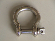 Bow Shackle Round Body S/S 4mm