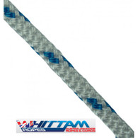 Off cut - 5mm Double braid rope - White with fleck 2.75m