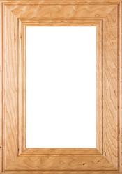 """Linville"" Cherry Glass Panel Cabinet Door Image"