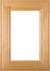 "Linville"" Superior Alder GLASS Panel Cabinet Door"